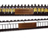 Botellero fabricado en metal