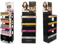 Mueble Expositor Dispensador Cósmetica Loreal