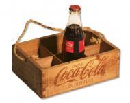 Cesta Expositora formato Retro CocaCola