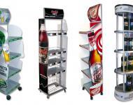 Totems expositores de productos con gráfica personalizada