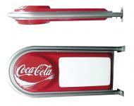 Rótulo banderola exterior, con iluminación interior de alta intensidad