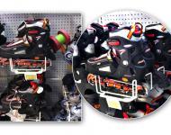 Colgador especial para patines